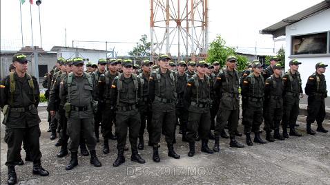 Policía incrementa el pie de fuerza para garantizar la jornada electoral en el Putumayo