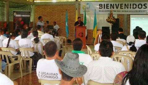 Putumayo avanza a través del desarrollo alternativo
