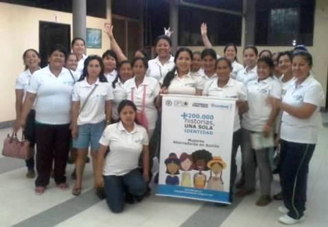 Preinscripción Masiva del Componente Mujeres Ahorradoras Línea I en el Putumayo