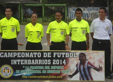 Continúa el Campeonato Interbarrios de Futbol – 2014