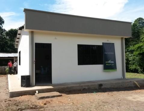 Ecopetrol entrega nueva aula educativa en la Vereda La Ye – San Miguel
