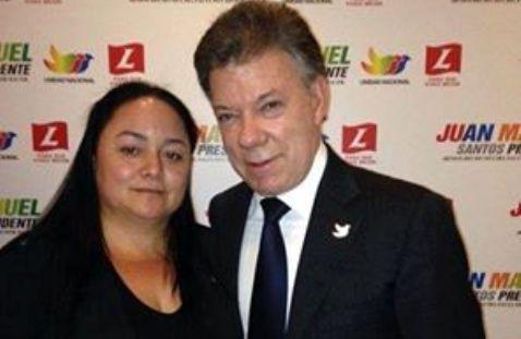 Santos me pidió su apoyo para la reelección; Argenis Velásquez Ramírez