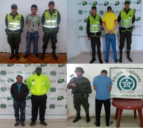 En mayo, contundencia por parte de la Policía Putumayo