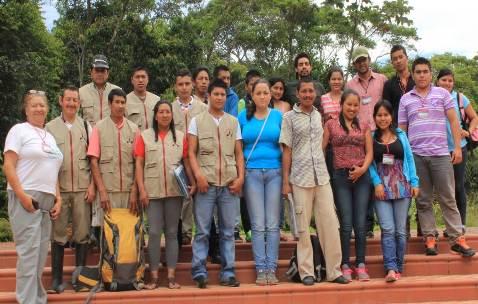 Monitores ambientales comunitarios reportan nuevos registros de Oso Andino en Putumayo