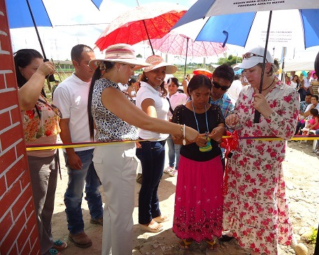 Vivienda amoblada para víctima del conflicto, entregó Gestora Social de Pto Guzmán