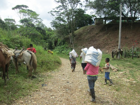 Programa Operación Prolongada de Socorro atiende 622 personas del pueblo NASA en Villagarzón