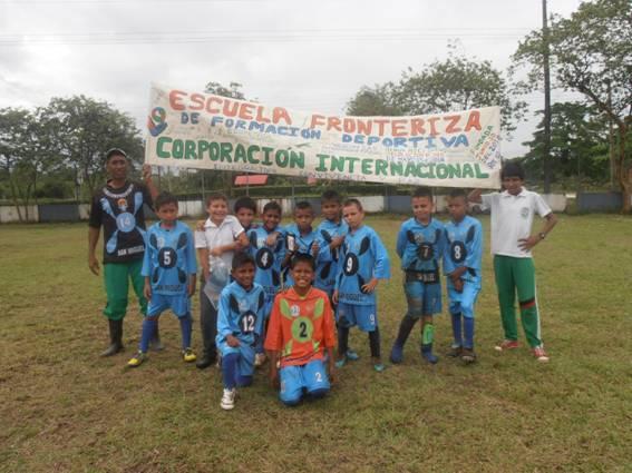 Futbol infantil en San Miguel
