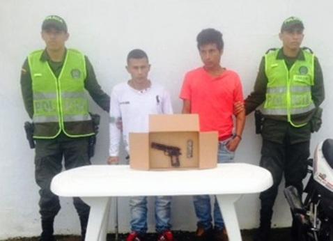 Capturadas 4 personas por porte ilegal de armas en el Putumayo