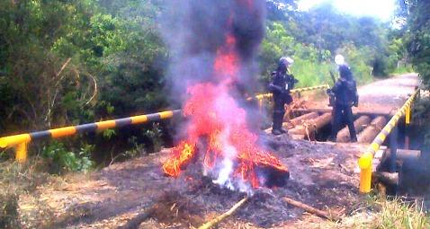 Se intensifican protestas de campesinos del Corredor Puerto Vega – Teteyé de Puerto Asís – Putumayo