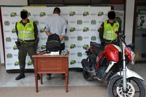En Mocoa, Policía Nacional captura delincuente dedicado al hurto