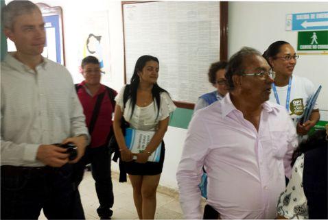 ONG Global Links y la OPS visitan instalaciones de la E.S.E Hospital Local y puestos de salud en Puerto Asís.