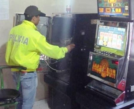 Policía incauta en Mocoa, maquina tragamonedas avaluada en 10 millones de pesos