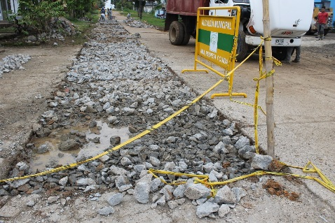 Se inicia reparación de la malla vial en Puerto Leguízamo