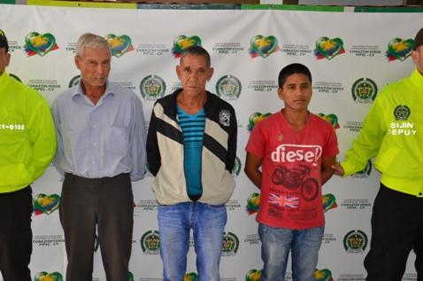 Detenidos presuntos abusadores sexuales en el Putumayo