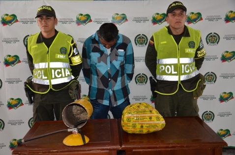 Incautado NarcoExtintor con mas de 6500 dosis de base de coca