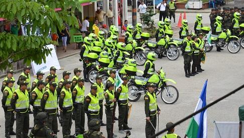 """Policía Nacional lista para garantizar seguridad en Feria Ganadera """"ExpoAsís 2014"""""""