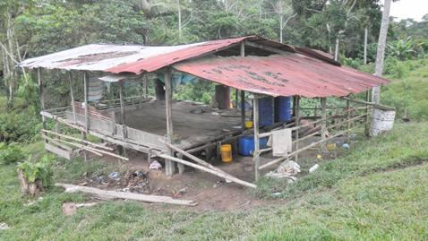 Fuerza Naval del Sur destruye laboratorio y explosivos de las FARC