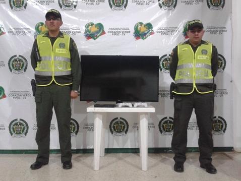Policía evita robo de un Televisor y Play Station en Colón