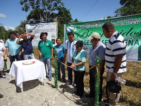 Más de 110 familias de tres veredas de Puerto Caicedo beneficiadas con servicio eléctrico