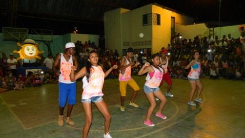 Armada Nacional participa en un Megaevento en la semana de la Juventud en Puerto Leguízamo