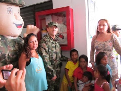 Ejército apoya jornada de salud en la Hormiga Putumayo