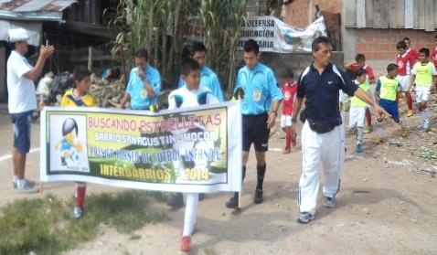 Final del Torneo de Futbol Infantil Interbarrios en Mocoa