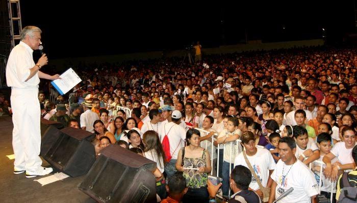 El Show de Las Estrellas sin locación para grabación en Mocoa