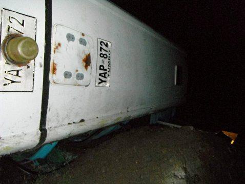 Accidente de tránsito entre El Encano (N) y Santiago (P) deja varios lesionados y fallecidos