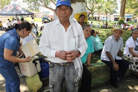 Leguízamo celebra Día Internacional del Adulto Mayor