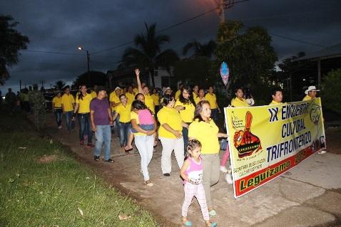 Lanzamiento del Evento Trifronterizo en Puerto Leguízamo
