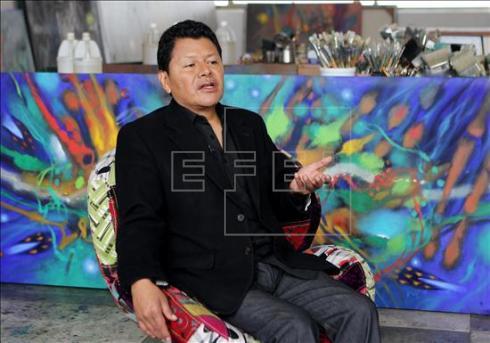 El pintor Jacanamijoy pide respetar los «sueños de libertad» de la niñez