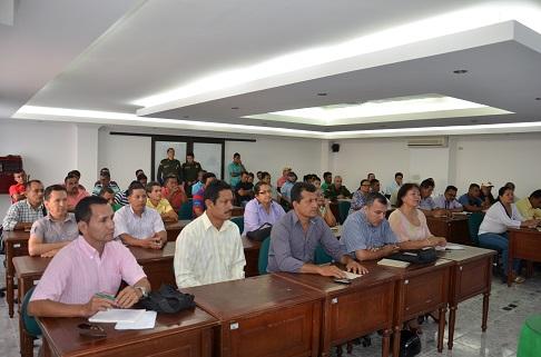 Policía realiza encuentro con concejales del Putumayo