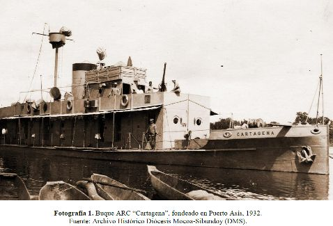 Armada Nacional en Puerto Leguízamo inicia desmantelamiento del ARC Cartagena