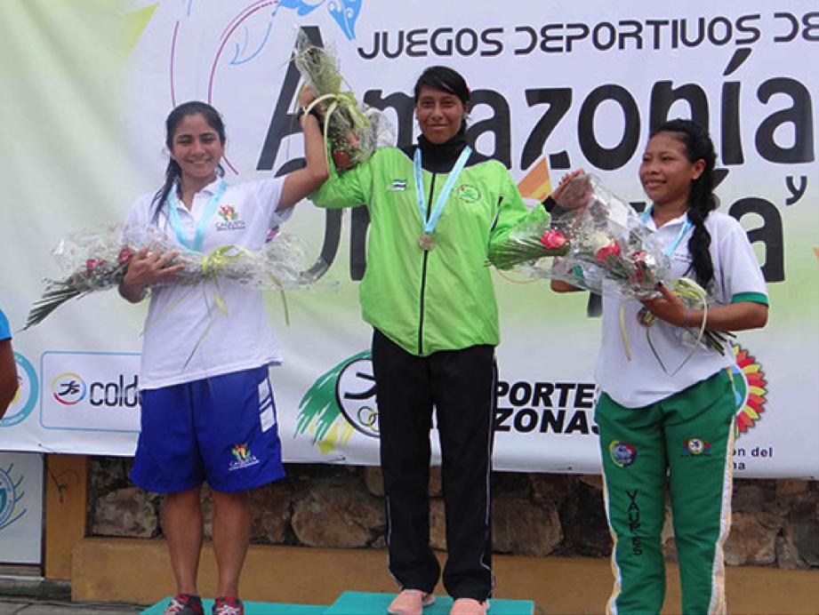 Putumayo rey de la selva en atletismo