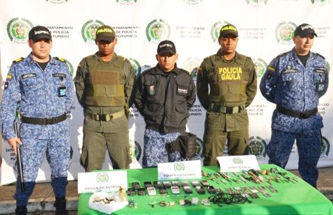 Policía Nacional en coordinación con el INPEC intervienen cárcel de Mocoa