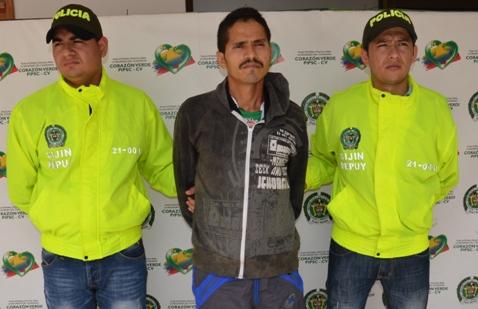 Capturado alias «Fabián», presunto integrante del frente 32 de las Farc