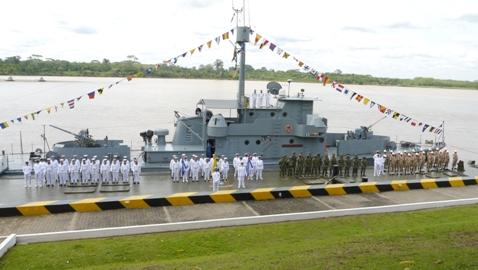 Relevo en el Comando de la Fuerza Naval del Sur