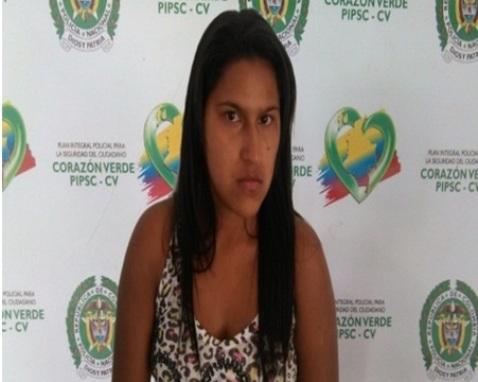 En acción coordinada del Gaula en Putumayo y Valle, se logra la captura de mujer extorsionista