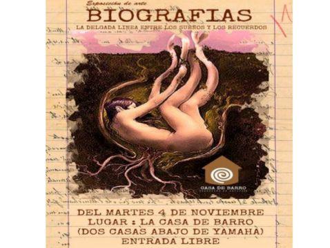 """Nueva exposición  de la Casa de Barro – """"Biografías"""""""