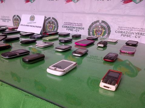 Incautaciones de celulares robados y Marihuana en el Putumayo