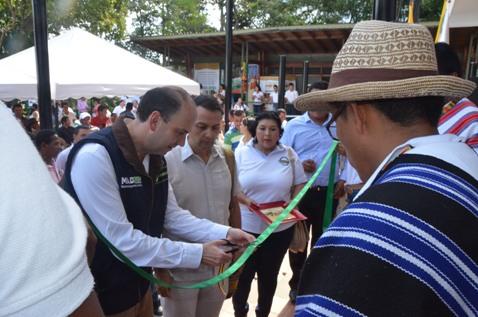Inauguradas nuevas instalaciones Sede Central de CORPOAMAZONIA con el Ministro de Ambiente