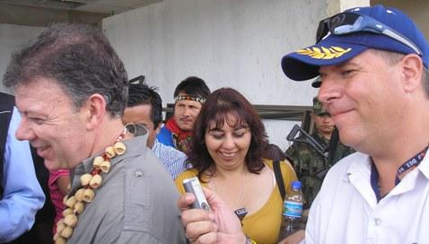 Visita oficial de Santos a Putumayo