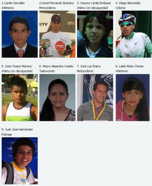 Gobernación e indercultura entregaron reconocimiento a deportistas putumayenses