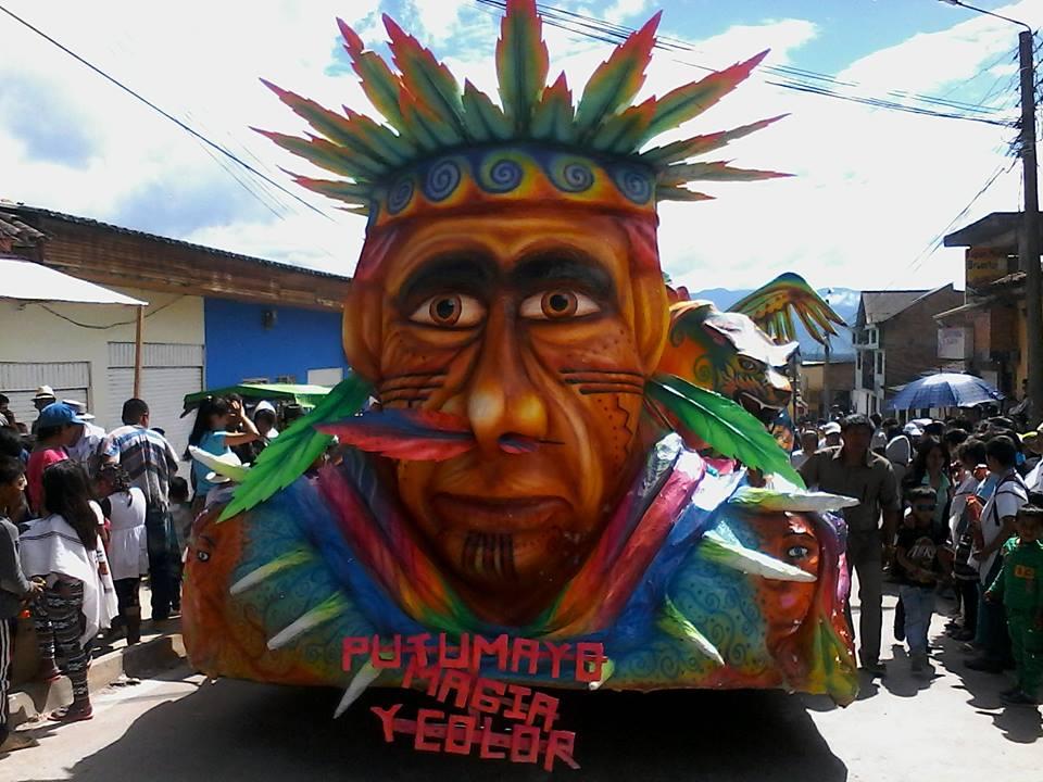 Carnavales en el Putumayo