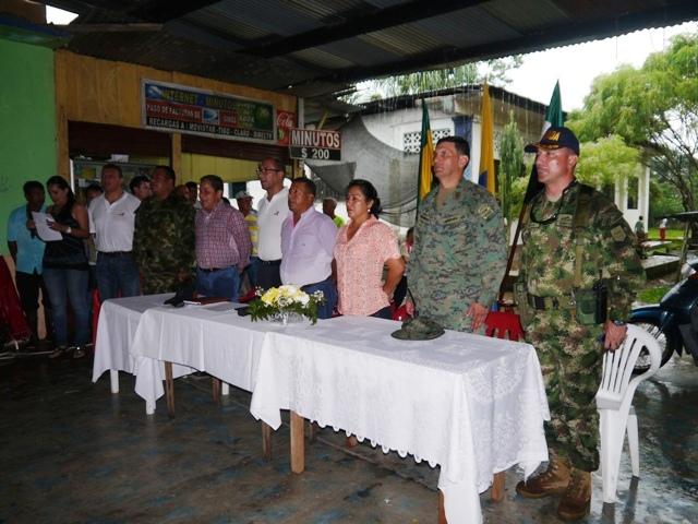 Armada Nacional respalda entrega de nuevos proyectos en el Putumayo