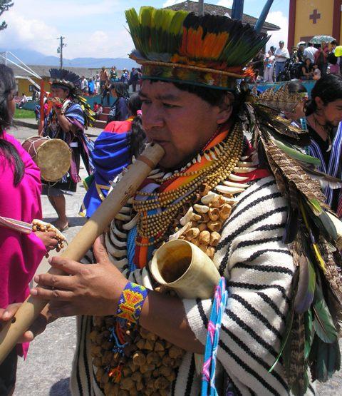 Carnaval del Perdón tradición indígena en el Putumayo