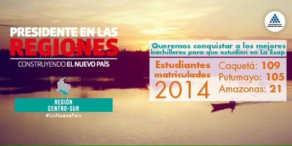 """""""Queremos conquistar a los bachilleres de Amazonas, Putumayo y Caquetá para que estudien en la Esap"""": Liliana Caballero, Directora de Función Pública"""