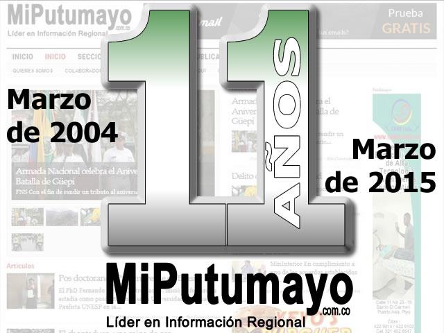 MiPutumayo.com.co – Líder en información regional; 11 años
