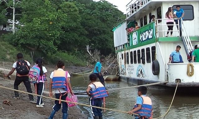 2.211 personas de la ribera del Río Putumayo, atendió Anaconda con educación ambiental y servicios de salud