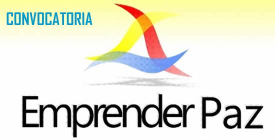 Sigue abierta la convocatoria para participar en el Premio Emprender Paz 2015